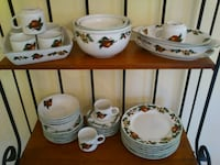 Dinnerware - The Cades Cove Collection Apples and Blossoms  Springfield