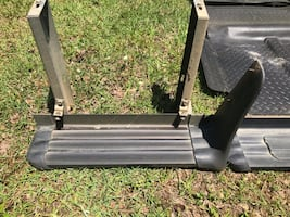 Trail back running boards and mats. Fits 99-06 Chevy and GMC trucks.
