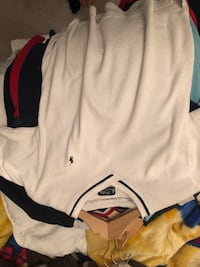 white and black Polo by Ralph Lauren polo shirt Toronto, M3M 3K3