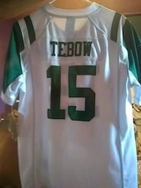 white and green NFL jersey Englewood, 80110