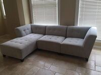 Gray Sectional couch  San Diego, 92101