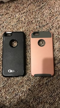 25for both. Black and rose gold iPhone 6+ case Woodland Hills, 84653