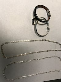 silver-colored chain necklace Ashburn, 20148