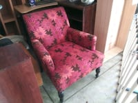 FLORAL PRINTED ACCENT CHAIR Philadelphia, 19144