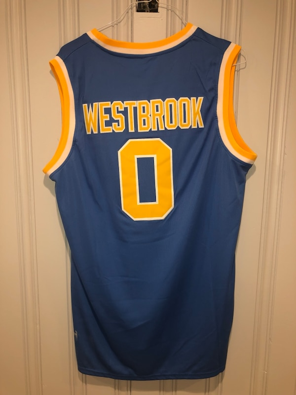 reputable site 9ca7b b6abe Used Russell Westbrook UCLA jersey for sale in Norwood - letgo