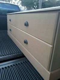 4 drawer dresser/credenza and night stand Tampa, 33615