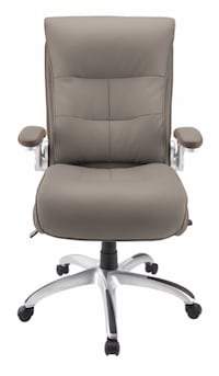 REALSPACE -   COMFORTABLE OFFICE CHAIRS - TAUPE & SILVER