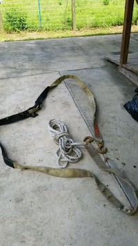 50 ft heavy rope and 25 ft tow strap with hooks Belleview, 34420