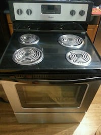 Electric Whirlpool Four Burner Stove