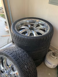 24in rims for 3/4 ton truck 8 lug Des Moines, 50313