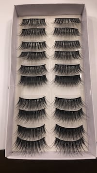 10 pairs of eyelashes Corona, 92881