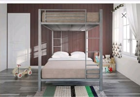 Ez Full size bunk bed like new