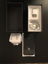 IPHONE8 64GB BLACK, UNLOCKED, EXCELLENT CONDITION + BOX AND ACCESSORIE