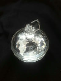 """Crystal faceted 3"""" trinket box with lid for sale Parkville, 21234"""