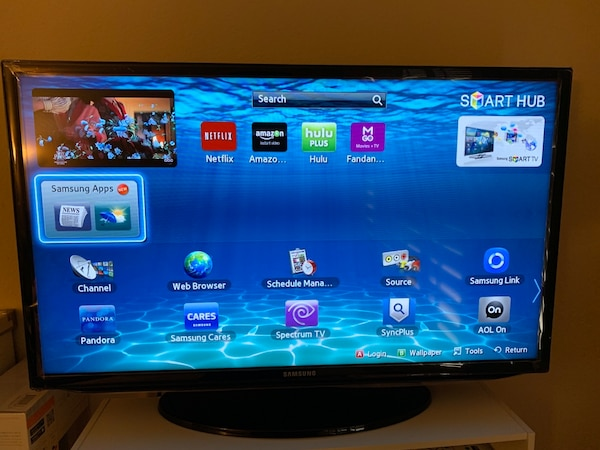 Used Samsung Smart Tv With Remote 32 Inch For Sale In Baldwin Park