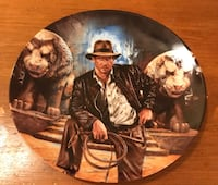 Antique Collector Plate Indiana Jones The Last Crusade Plate 4247A Year 1989 Frisco, 75035
