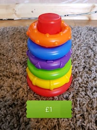 red, yellow, and blue plastic toy Bolton, BL1 6QY