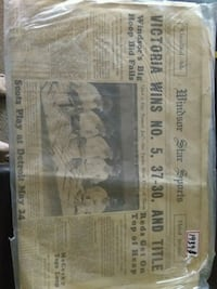 1939 WINDSOR STAR SPORTS NEWSPAPER NY YANKEES