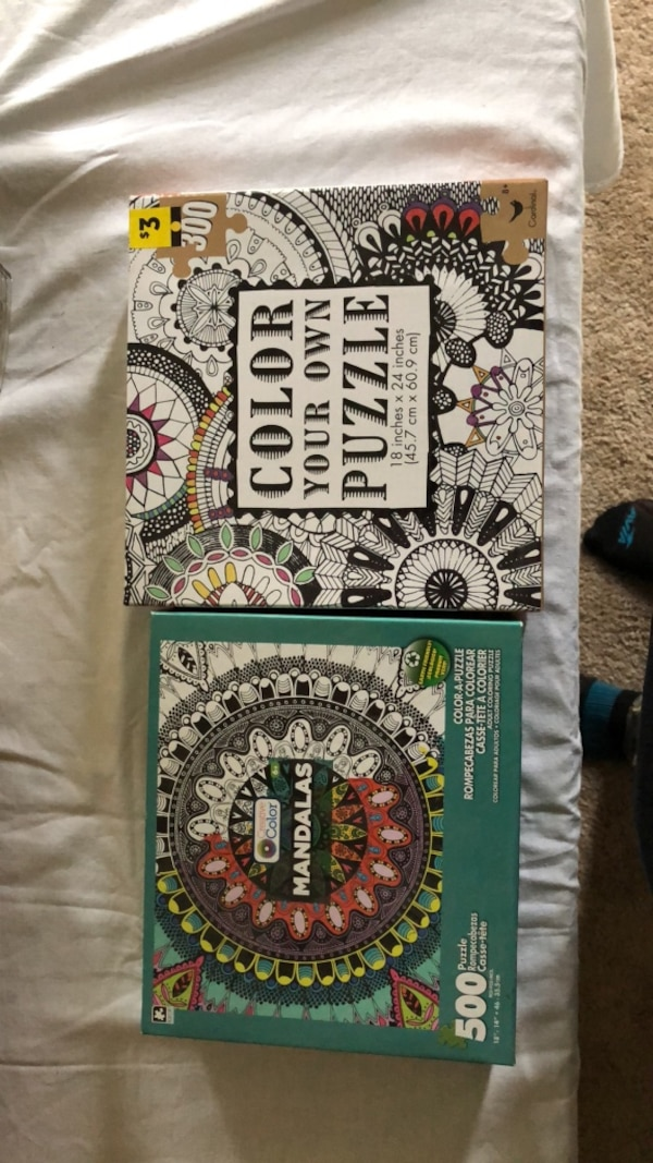 Color your own puzzles