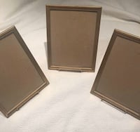 Gold 8x10 picture frames withstands Toronto, M6K 0C2