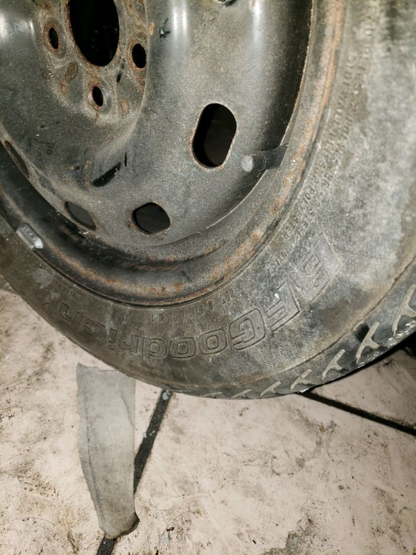 Used tire and rim 3