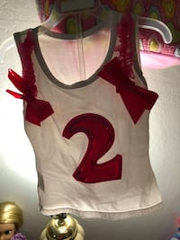 white and red tank top San Jose, 95122