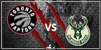 Raptors vs. Bucks, January 31 – Lower Bowl, Aisle Toronto