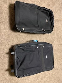 black soft-side luggage Calgary, T1Y 1X7