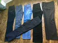 Lot of woman's bottoms size 8-$ Toronto, M6R 1Z8