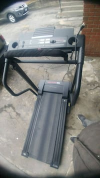 black and gray automatic treadmill Mississauga, L4T 1X3