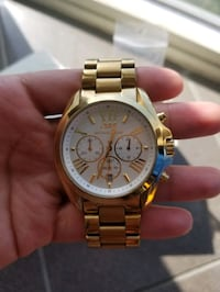 Womens Michael Kors Gold Watch