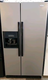 side-by-side refrigerator with dispenser whirpool  Phoenix, 85019
