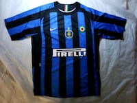 Inter Milan Adriano soccer Jersey Nike total 90  Alexandria, 22312