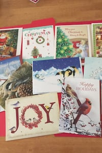 Assortment of 10 Christmas cards with matching envelopes all for $1.00 Glassboro, 08028