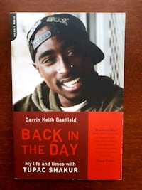 "Livre Tupac Shakur ""Back in the day"" 2pac book"
