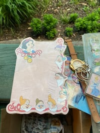 Snow White and the seven dwarfs pad paper