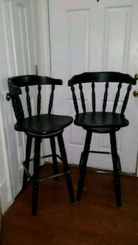 two brown wooden windsor chairs East Point, 30344
