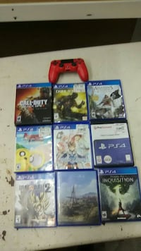 9 game bundle Sony PS4 games