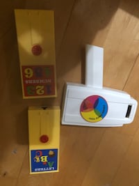 """Like new Fisher price toy with abc's and 123""""s Laval, H7T 1C8"""