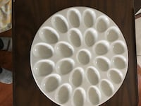 Deviled egg ceramic dish Arlington Heights, 60004