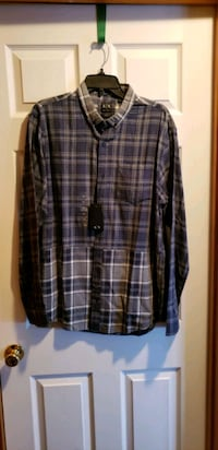 Armani Exchange AX Button Up Shirt Size XL