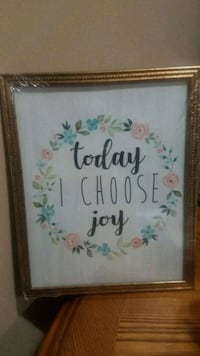 Today I choose joy inspirational picture  Youngstown, 44515