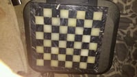 Marble black and white chess board Peterborough, K9J 6N6