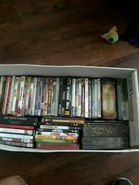 assorted DVD movie case lot Los Angeles, 91605