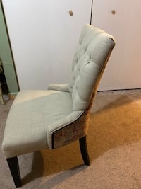 Decorative Chair with writing on the back. Silver Spring, 20910