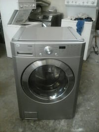 Grey LG front load washer  Irving, 75060