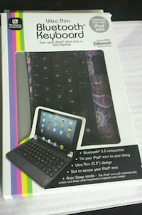 New Ultra Thin Bluetooth Keyboard for Ipad Mini. O Falls Church, 22043