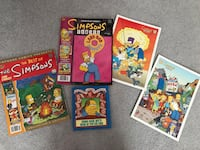 Comic Book Guy's book of pop culture and Simpsons comics