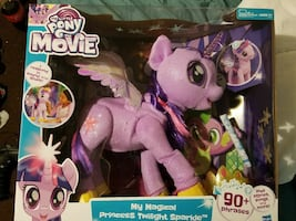 My little pony the movie doll.