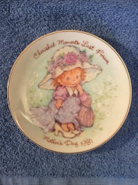 Cherished Moments Mother's Day Plate - 1981. Mahwah, 07430